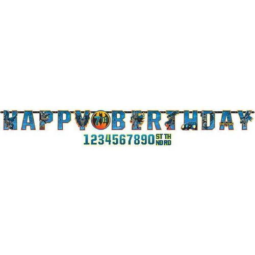 Batman Jumbo Birthday Banner - Amscan