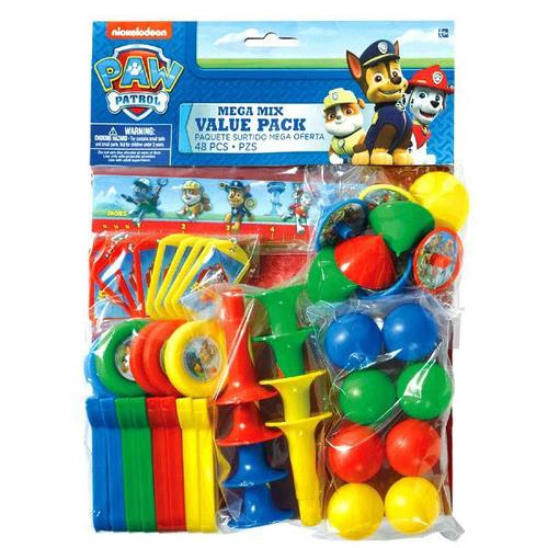 Paw Patrol Favor Pack 48pc - Amscan
