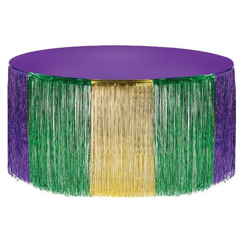 Mardi Gras Table Skirt - Amscan