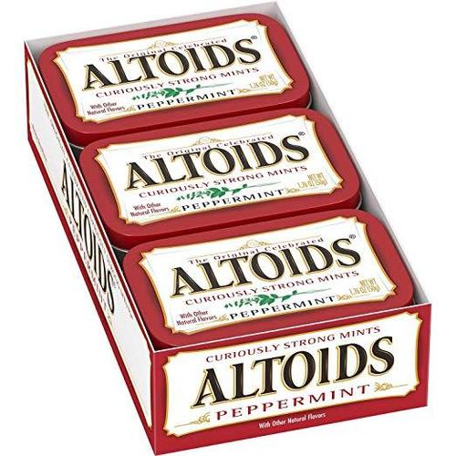 Altoids Peppermint 12/1.76oz - Wrigley