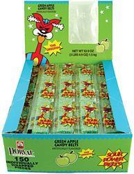 Sour Power BeltGreen Apple 150ct - Dorval Trading