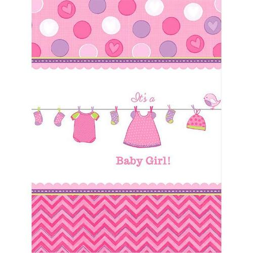 Shower Girl Table Cover - Amscan