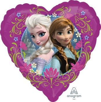 "17"" Disney Frozen Love Foil Balloon - Flat"