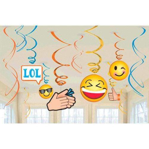 Lol Swirl Decorations - Amscan