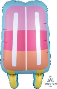 "Supershape Just Chillin Popsicle 30"" Balloon - Anagram"