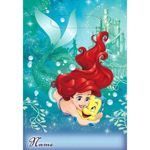 Ariel Dream Big Fld Loot Bag - Amscan