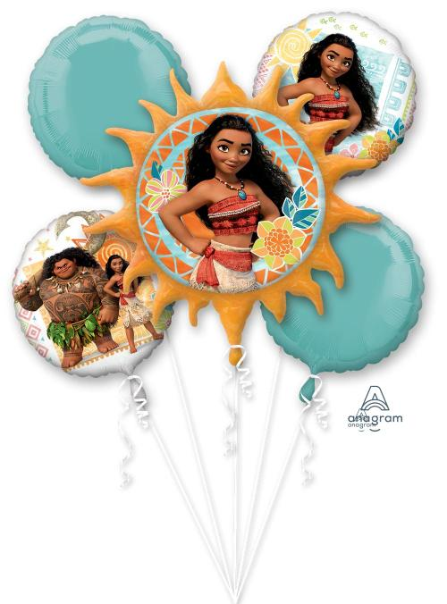 Moana Balloon Bouquet - Anagram