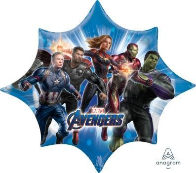"Supershape Avengers Endgame 35"" Balloon - Anagram"