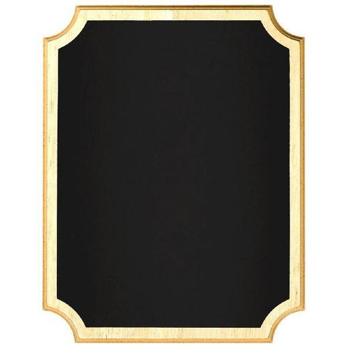 Chalkboard Easel Sign Wood Border - Amscan
