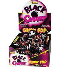 Blow Pop Black Cherry 48/.65oz - Charms Company