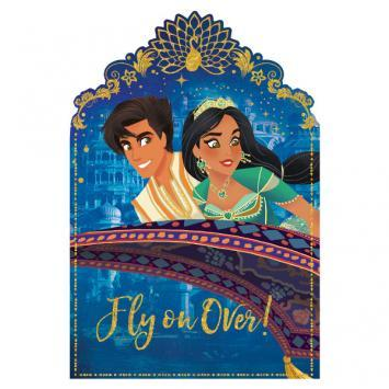 Aladdin Invitations 8ct - Amscan