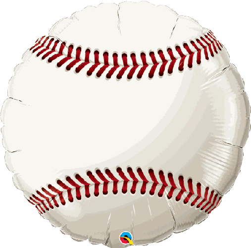 "Supershape Baseball 36"" Balloon - Qualatex"