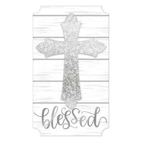 Cross Medium Easel Back Sign