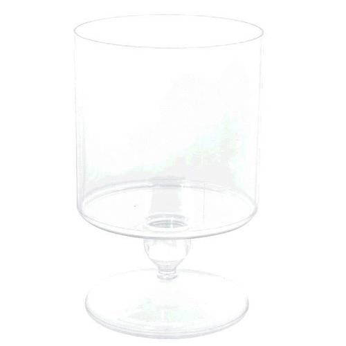 Plastic Container Clear Medium Cylinder Plastic Jar - Amscan