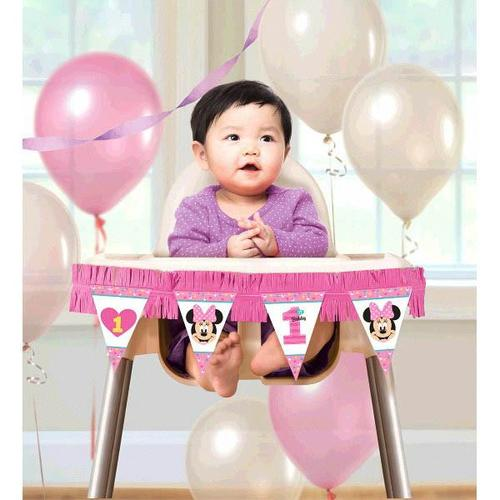 Minnie Fun2B1 High Chair Deco K