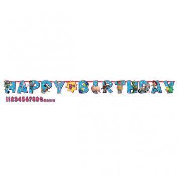 Toy Story 4 Jumbo Birthday Banner - Amscan
