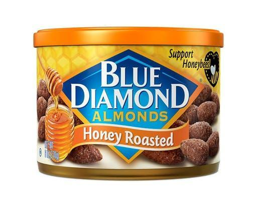 Almonds Honey Roast 25lb - Blue Diamond Growers
