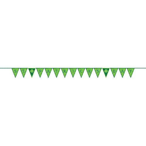 St Patrick's Day Pennant Banner - Amscan