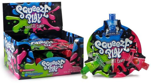 Squeeze Play Candy 12ct Display - Foreign Candy Company