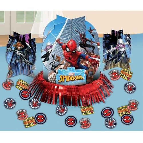 Spider Man Web Table Decorating Kit - Amscan