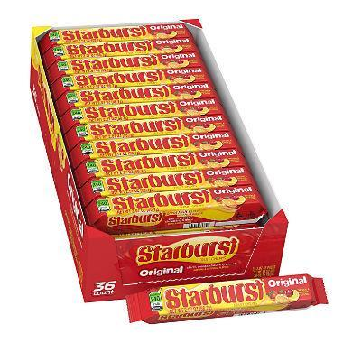 Starburst Original Fruit Chews 36/2.07oz - Wrigley