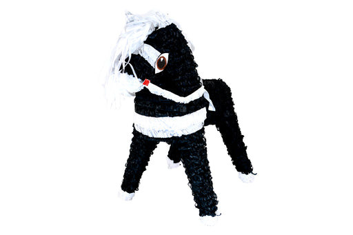 Horse-Black/White Piñata - Piñata District