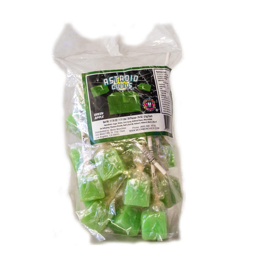 Asteroid Cubes Green Apple 25/24 - Moon Munchies