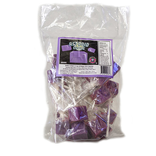 Asteroid Cubes Grape 25/24 - Moon Munchies