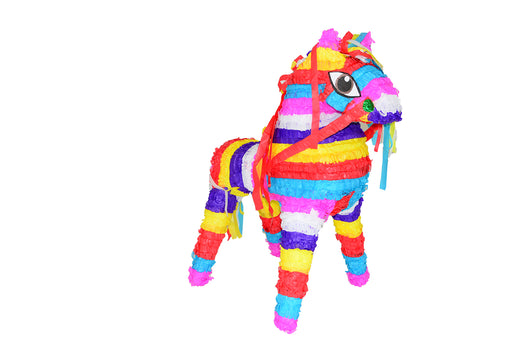 Horse-Multicolor Piñata - Piñata District