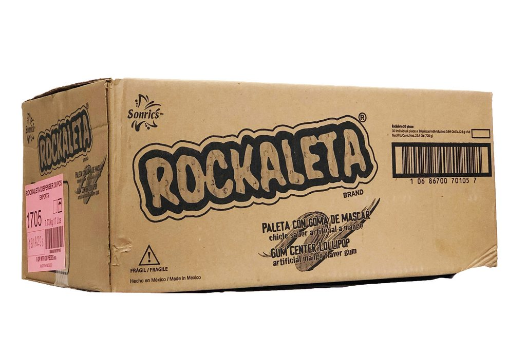 Rockaleta Dispenser 8/30 - Case - Sonric's