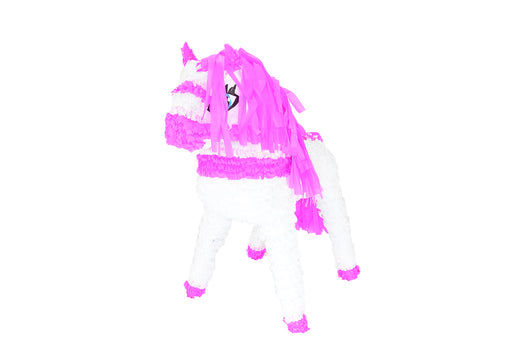 Horse-White/Pink Piñatas - Piñata District
