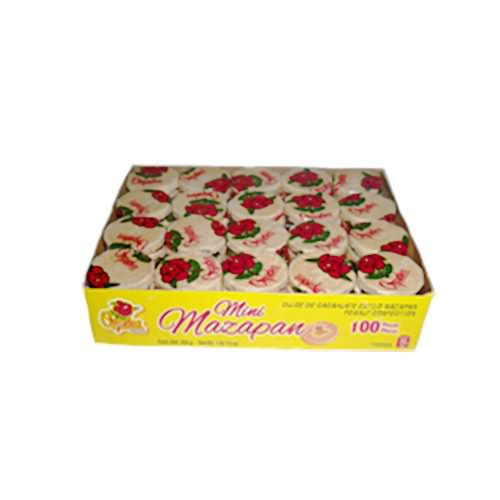 Orquidea Dulces Mini Mazapan 100ct - Case