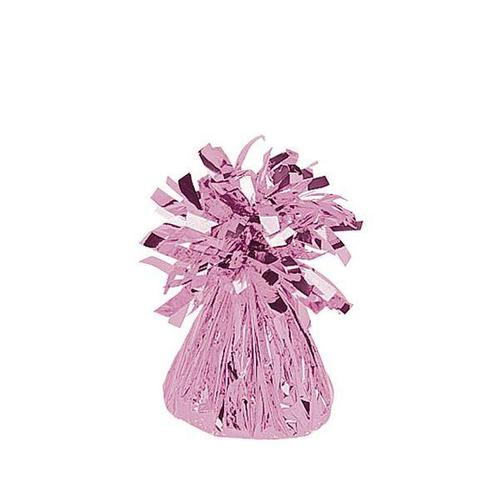 Pink Small Foil Balloon Weight - BALLOON WEIGHTS
