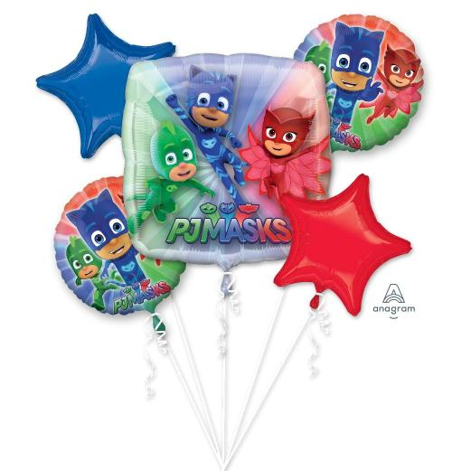 Pj Mask Balloon Bouquet - Anagram