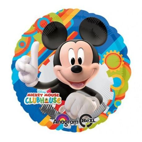 "17"" Mickey Mouse Clubhouse Foil Balloon - Flat - Anagram"