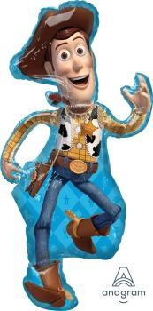 "Supershape Toy Story 4 Woody 44"" Balloon - Anagram"