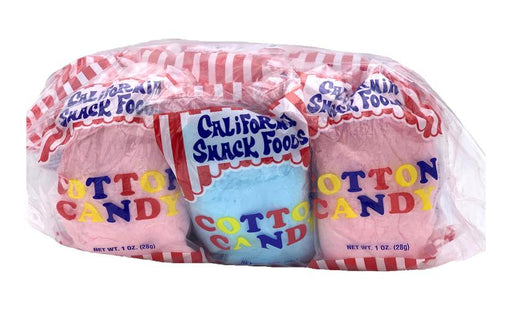 Cotton Candy 12ct - CA SNACK FOODS
