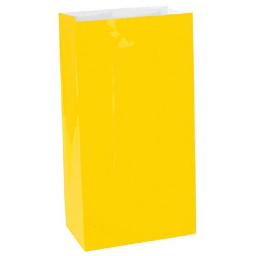 Yellow Sunshine Mini Paper Bag - Amscan
