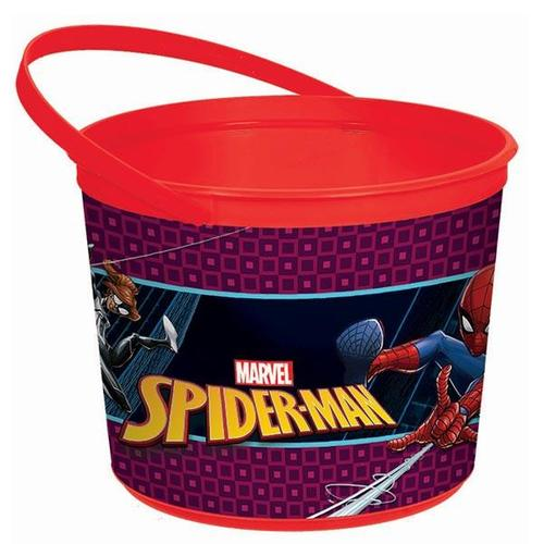 Spider Man Web Favor Container - Amscan