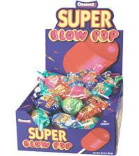 Blow Pop Super Assorted 48Ct/1.23oz - Charms Company