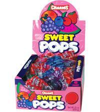 Sweet Pop Assorted 48/.63oz - Charms Company