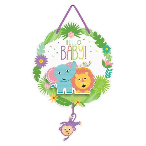 Fisher Price Hello Baby Hanging Sign - Amscan