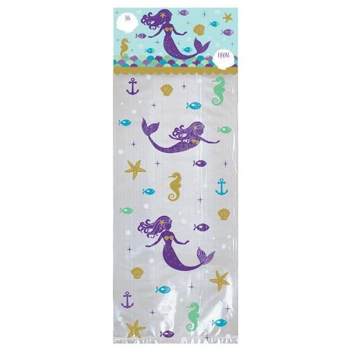 Mermaid Wishes Treat Bag Kit - Amscan