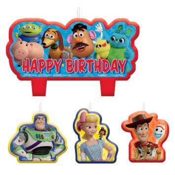 Toy Story 4 Candle Set - Amscan