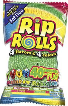 Rip Roll Rainbow Reaction 24/1.40z - Foreign Candy Company