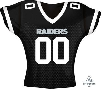 "Supershape Oakland Raiders Jersey 24"" Balloon"