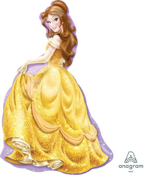 "Supershape Princess Belle 39"" Balloon - Anagram"
