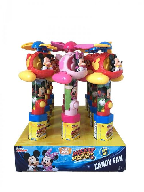 Disney Mickey Mouse Helicopter Fans 12/.53oz - Candy Rific