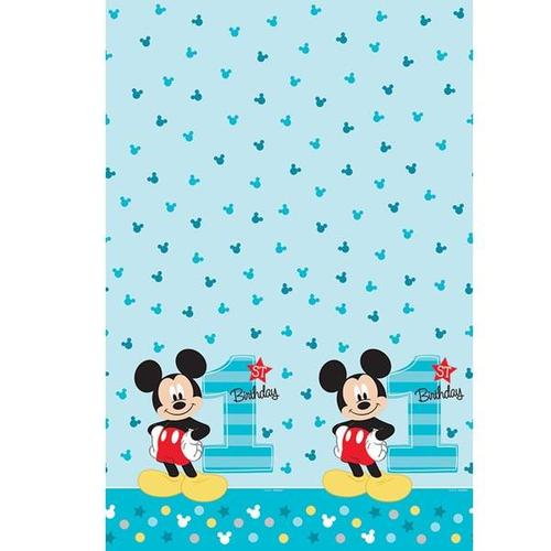 Mickey Fun To Be One Table Cover - Amscan