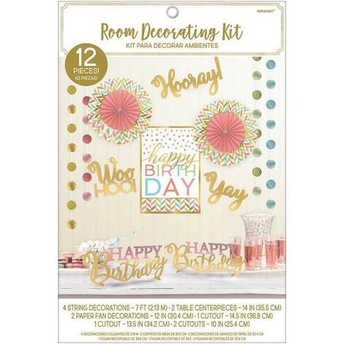 Confetti Fun Room Deco Kit - Amscan